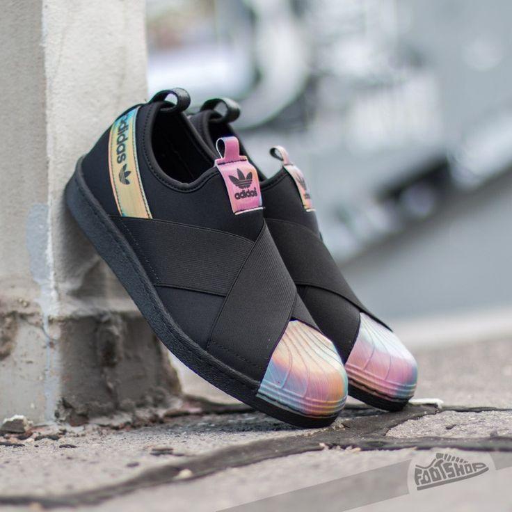 adidas Superstar Slip On W Core Black/ Core Black/ FTW White adidas shoes women - http://amzn.to/2ifyFIf