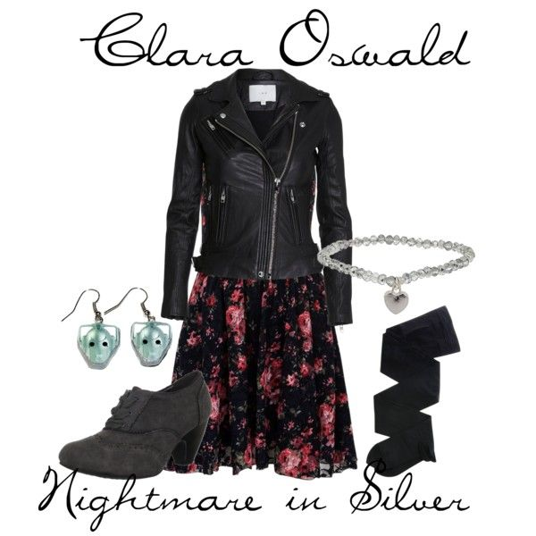 14 best clara oswin oswald doctor who cosplay ideas images on clara oswald from nightmare in silver by pieisyummy on polyvore ccuart Gallery