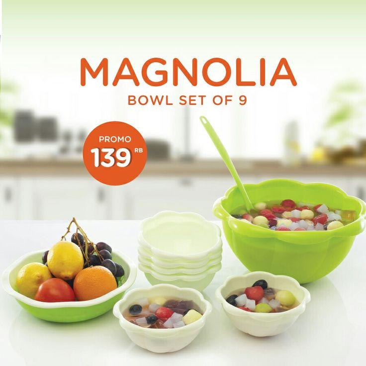 MAGNOLIA BOWL SET 139rb