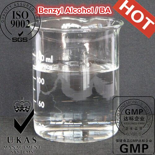 Benzyl Alcohol is often the primary solvent and sometime the only solvent in a given formula. Its primary function is as a sterilizing agent. However, due to its solvency power it is often used to keep hormones in solution with oil or other vehicles.