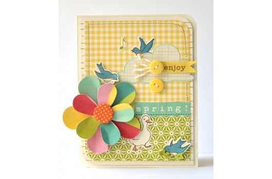 ScrapbookSteals.com® ~ Best deals on scrapbook supplies, kits, paper, ribbons and albums with a daily dose of scrapbooking ideas.Scrapbook Ideas, Daily Dose, Paper Ribbons, Enjoy Spring, Crafts Ideas, Cards Ideas, Scrapbook Supplies, Scrapbooking Ideas, American Crafts