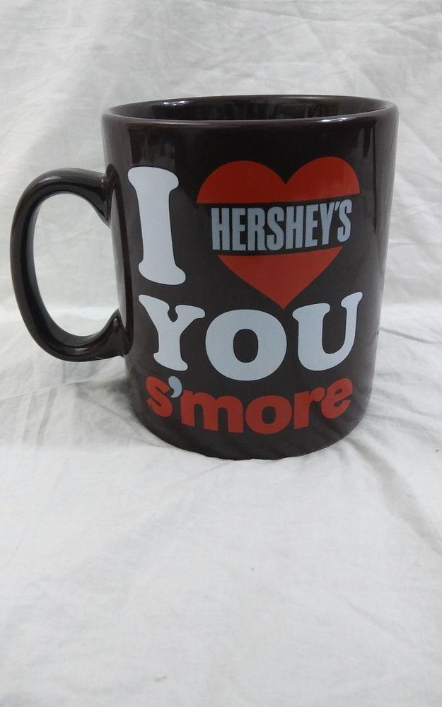I Love You S'more Hershey's Chocolate Oversized Coffee Mug Cup 28oz Galerie #Hersheys #hersheychocolate #coffeemug
