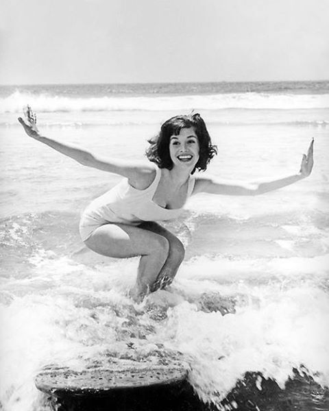 Do a little surfing, like Mary Tyler Moore. (Trying it January 1st!) #inspirationboard @Gina Gab Solórzano Harney