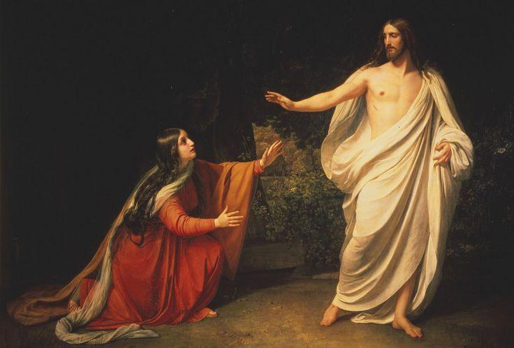 """Clic en la imagen y sigue la reflexión del Evangelio del día  Sábado de la XV Semana del Tiempo Ordinario  """"Lo reconoció""""   Evangelio según San Juan 20, 1-2.11-18 El primer día de la semana, de madrugada, cuando todavía estaba oscuro, María Magdalena fue al sepulcro y vio que la piedra había sido sacada. http://www.fundacionpane.org/evangelio-del-dia-lectio-divina-juan-20-1-2-11-18-2/"""
