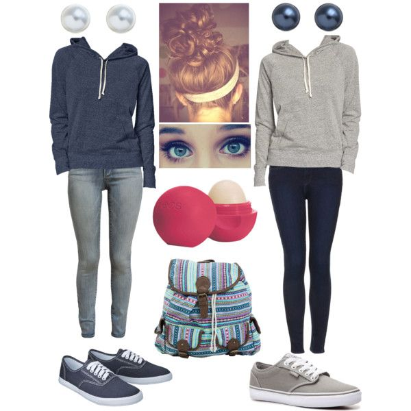 Twins - Casual School Outfit | Casual School Outfits School Outfits and Twin
