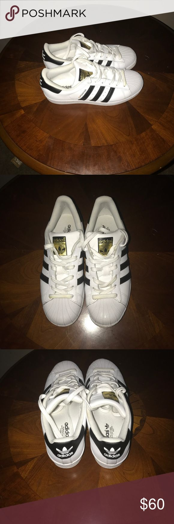 Adidas Classic Superstar Sneakers In excellent condition some minor marks on sole can be removed with nail polish remover adidas Shoes Sneakers