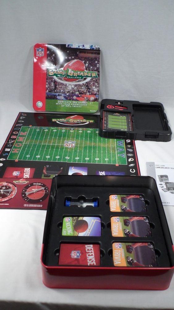Gamebreaker NFL Trivia Challenge *EUC* Game Breaker Pro Football Man Cave Games #ExcaliburElectronics
