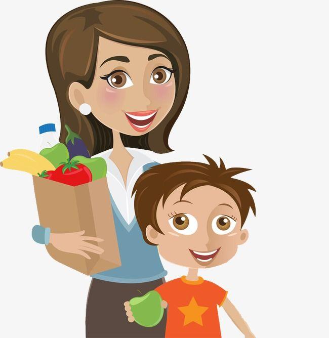 Картинки мама и сын мультфильм