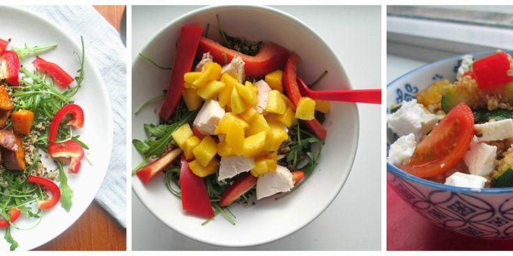 Recept(en) 3x-quinoa salade