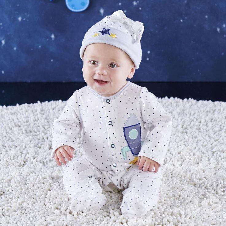 Baby Aspen Cosmo Tot Spaceship 2 Piece Pajama Gift Set