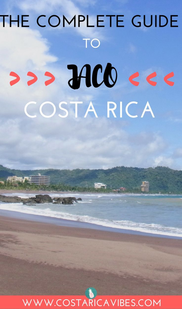 This complete guide to Jaco Costa Rica has transportation info, the best activities, cool hotels, and tasty restaurants.