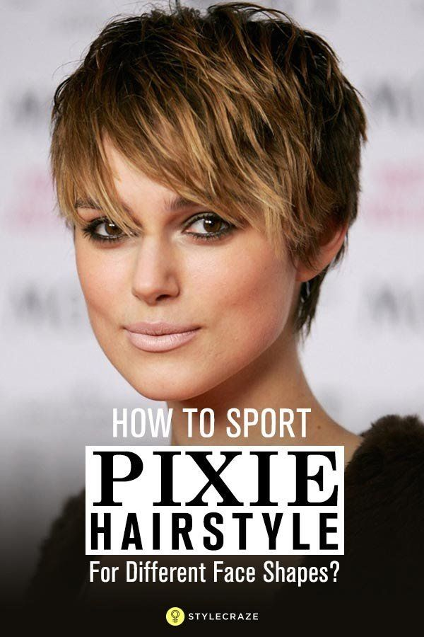 hair up styles for faces how to sport pixie hairstyle for different shapes 7851