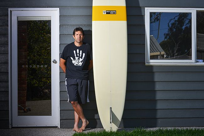 At home with Attica owner and chef Ben Shewry. Photo: Reg Ryan