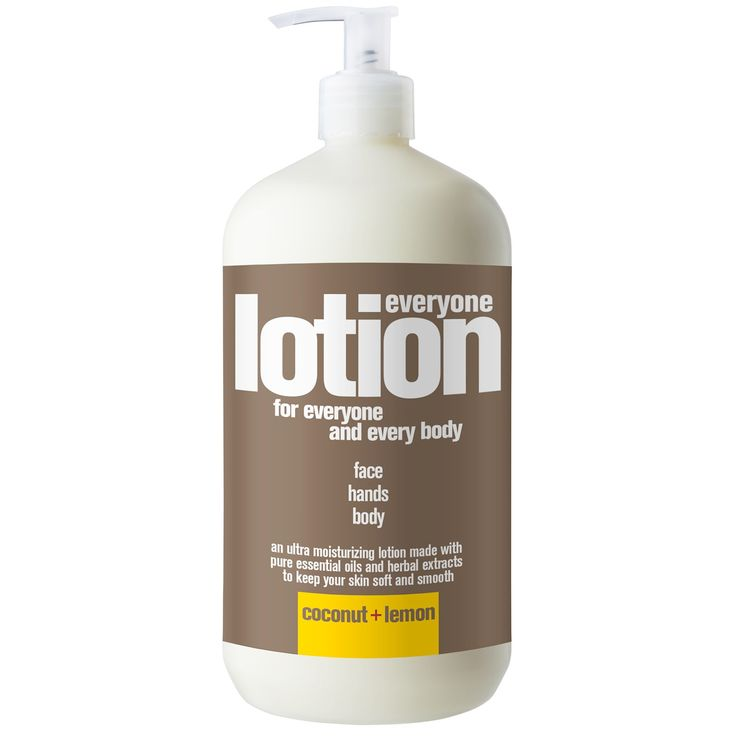 EO Products, Everyone Lotion, For Everyone And Every Body, Coconut + Lemon, 32 fl oz (960 ml)