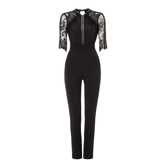 """""""SELF-PORTRAIT"""" Lace Sequence Jumpsuit at Brown Thomas"""