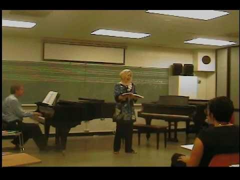 Patrice Rasmussen Soprano sings from Messiah, I Know That My Redeemer Li...
