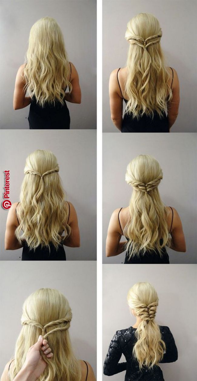 170 Easy Hairstyles Step By Step Diy Hair Styling Can Help You To Stand Apart From The Crowds Hair Styles Hair Tutorials Easy Easy Hairstyles