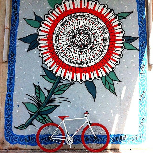 #fixedgear #fixed #bike #bikes #fixedgearbike #graffiti #design #fixedgeargirl #streetart #instafollow #love #ufoe #nobrakes  #sardinia #pista #fixedlife #lifestyle #fixie #fixies #onegear #brakeless #fixedlove #blacksails #vintagebike #tattoos #bikeporn #cycling #galleriadelsale #trackbike #cagliarifixed by cagliarifixed http://ift.tt/1DoiXA1