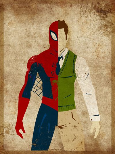 Spider Man Superhero Poster