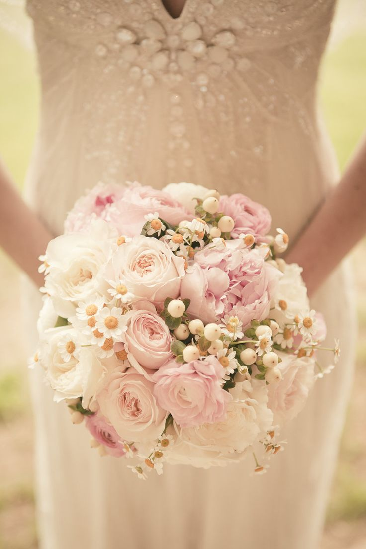 Wonderful Mix of Flowers! Whimsical but Elegant! Photography: The Wedding Artist's Collective | Bouquet On SMP: stylemepretty.com...