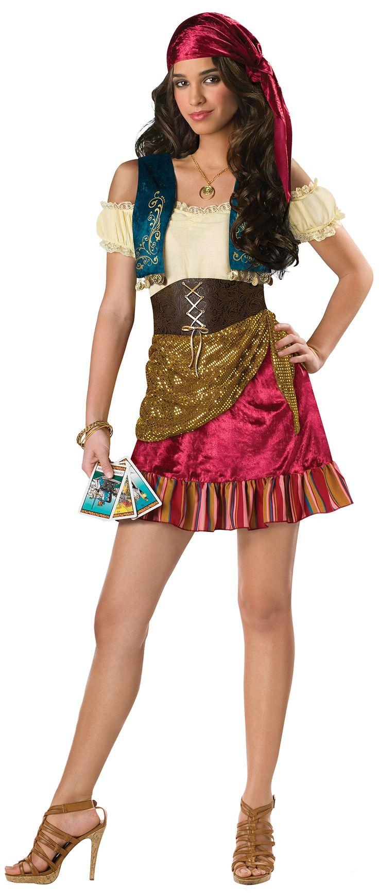 Gypsy Teen Girl's Costume