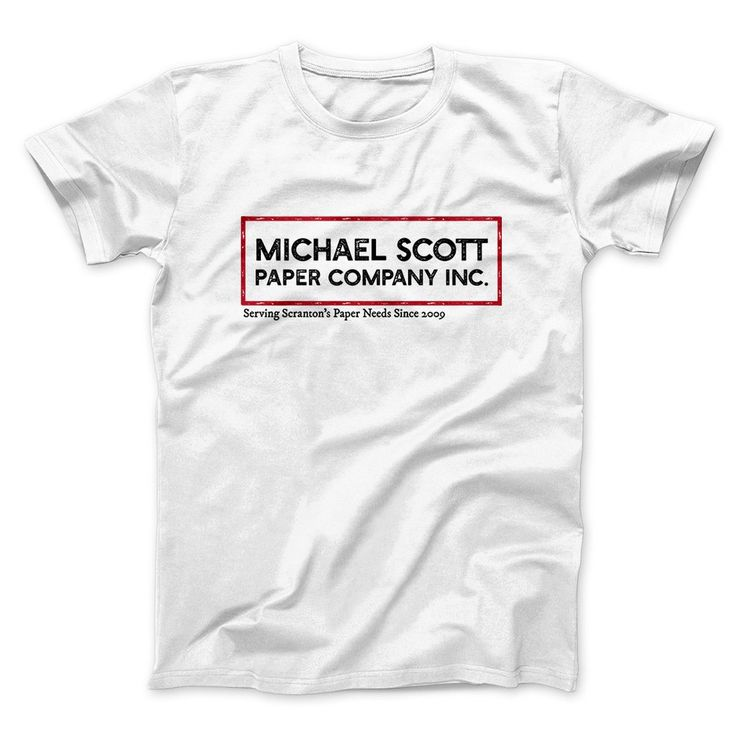 Michael Scott Paper Company Men/Unisex T-Shirt - Famous In Real Life