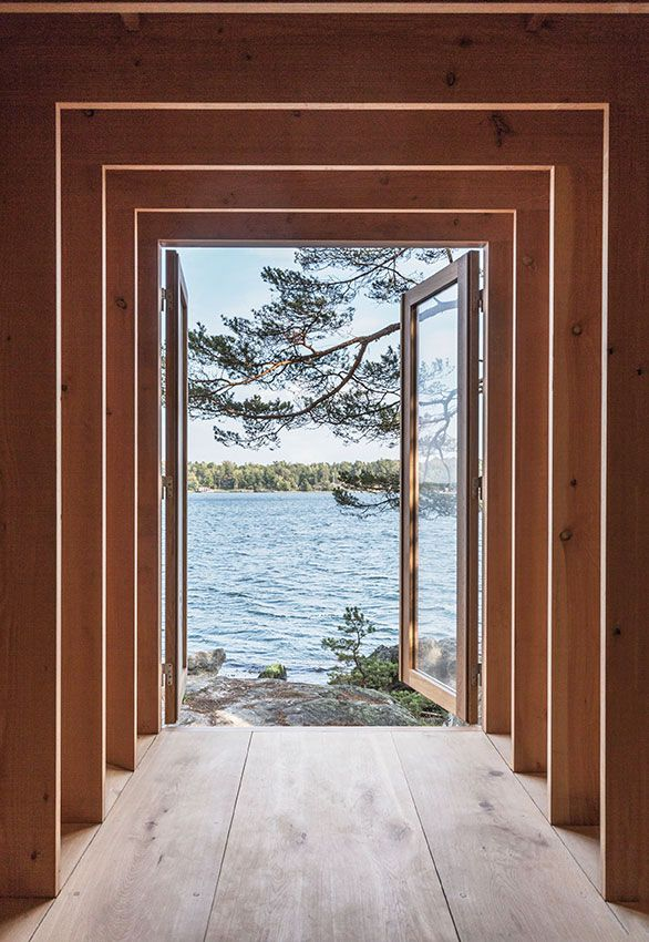 View from kayak house - Dinesen HeartOak