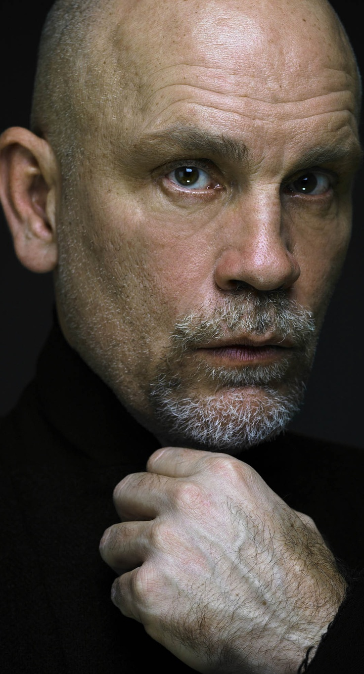 John Malkovich American actor, producer, director and fashion designer with his label Technobohemian.
