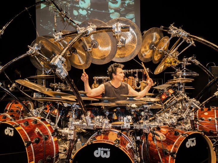 Terry Bozzio ::: I once heard his style described as: he plays every note as if it were his last