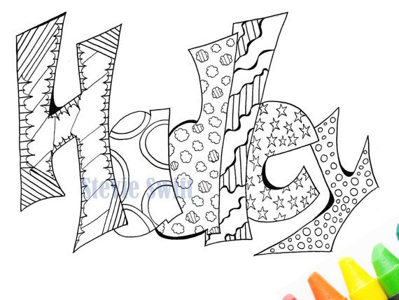 39 Best Coloring Images On Pinterest