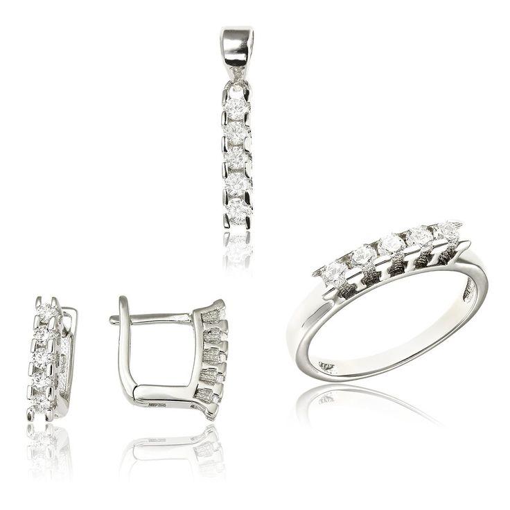 Set argint cu 5 cristale briliant din zirconiu Cod TRSS027 Check more at https://www.corelle.ro/produse/bijuterii/seturi-argint/set-argint-cu-5-cristale-briliant-din-zirconiu-cod-trss027/