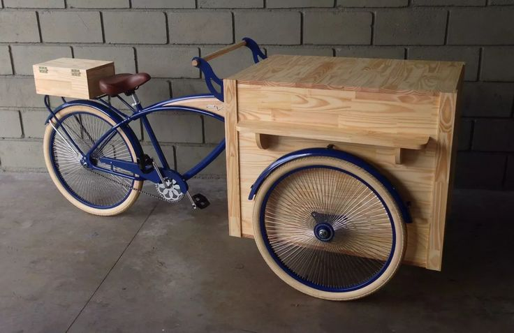 food bike foodbike foodtruck vintage custom trike