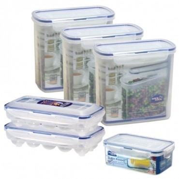 Lock & Lock Baking Supply Storage 12-Piece Set