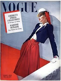 Vogue USA cover  - March 1942