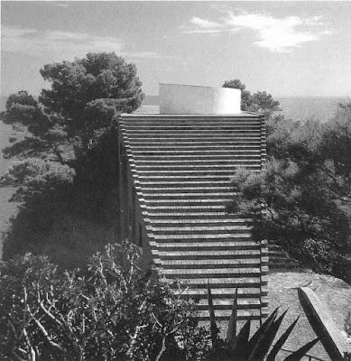 Villa Malaparte, Adalberto Libera. Capri, Italy, 1937.