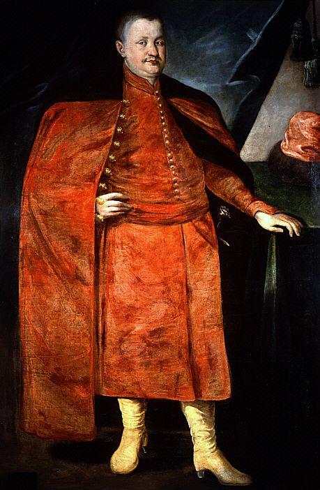 książę Konstanty Wasyl Ostrogski (1526-1608) - książę, ruski magnat, starosta włodzimierski, wojewoda kijowski, marszałek ziemski wołyński, senator