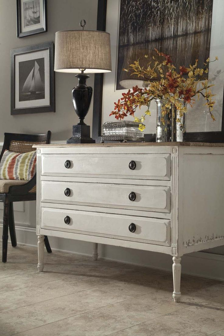 Furniture Classics Limited, Showplace 2401, Painted Chest #designonhpmkt  #classicfurnitu2