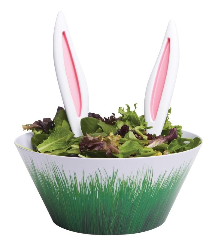 Rabbit Ears Salad Servers