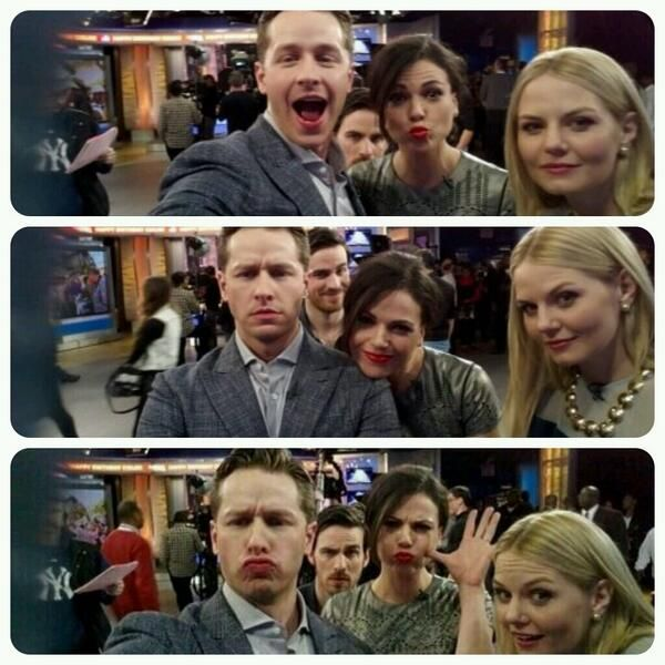 Oh lookie who's photo bombing?! *smirks*