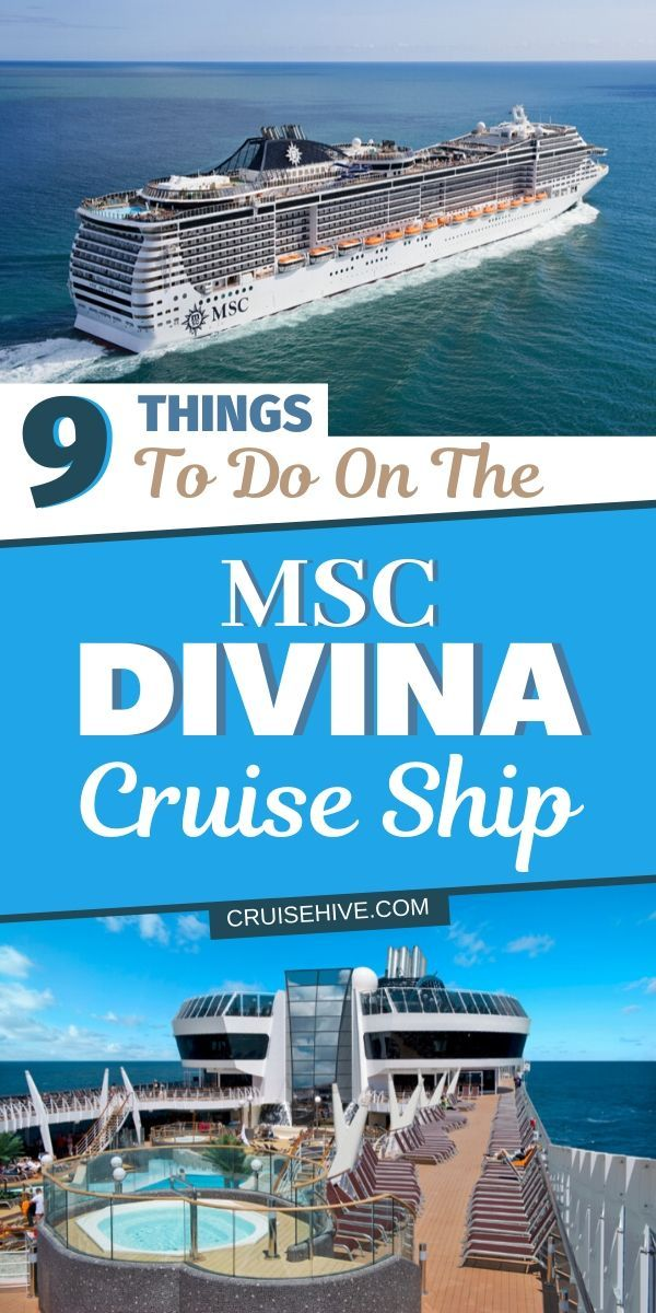 Msc Divina Foto Halloween 2020 9 Things to Do on the MSC Divina Cruise Ship in 2020 | Cruise trip