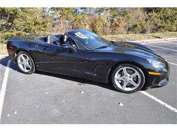 2007 Corvette Convertible - Black, 6-Speed Manual, V8.   www.chevroletcorvetteusa.com