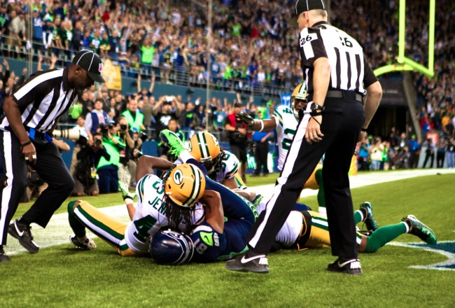 Not sure what to call ~ that was such a bogus call, The Packers were robbed!