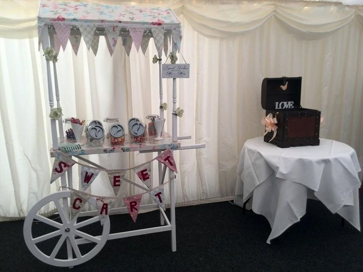 https://www.facebook.com/pages/TLC-Candy-Cart-Hire/1567572446801237 sweet cart handmade shabby chic pretty vintage wedding party event hire candy cart Cambridgeshire