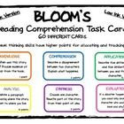 Bloom's has never been more fun ;)  This pack includes SIXTY TASK CARDS covering the Bloom's Taxonomy Thinking Skills of Knowledge, Comprehension, ...