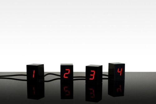 Areaware Numbers Clock