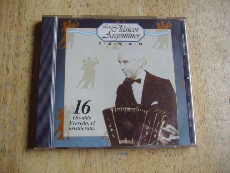 Los Clasicos Argentinos - Tango - Volumen 16 Osvaldo Fresedo