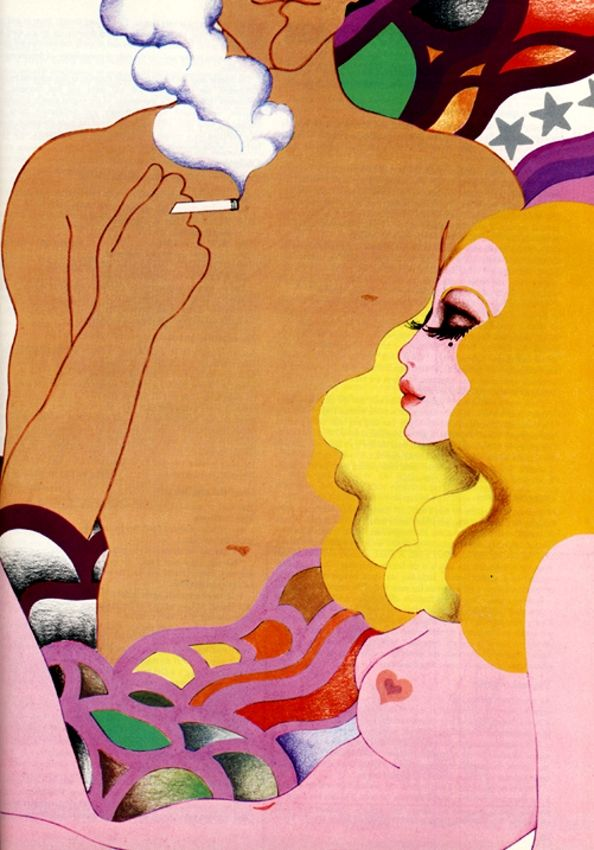 Cosmopolitan magazine, July 1972. Illustration by Wendy Buttrose