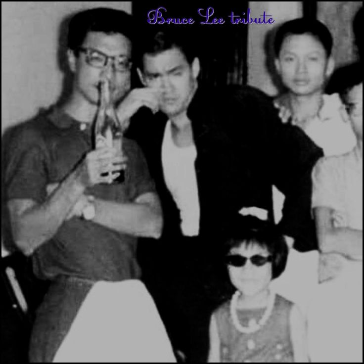 Rarely seen picture of a young Bruce Lee