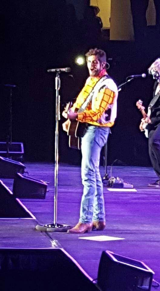 Thomas Rett in Roanoke Oct. 31 dressed as Woody