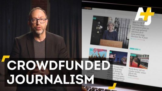 Can a Wikipedia news model fix journalism? Jimmy Wales thinks so. #news #alternativenews